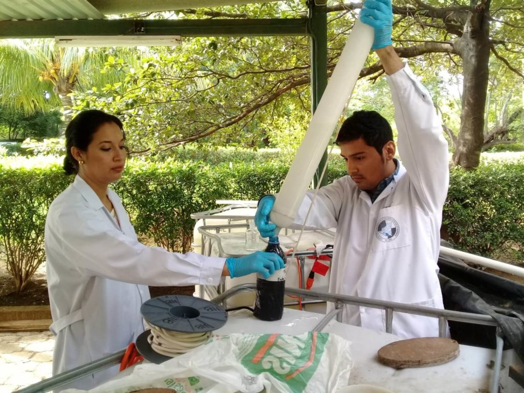 20181026 084126 1024x768 - Conoce lo que hacemos en el  Centro de Investigación para los Recursos Acuáticos de Nicaragua (CIRA/UNAN-Managua)